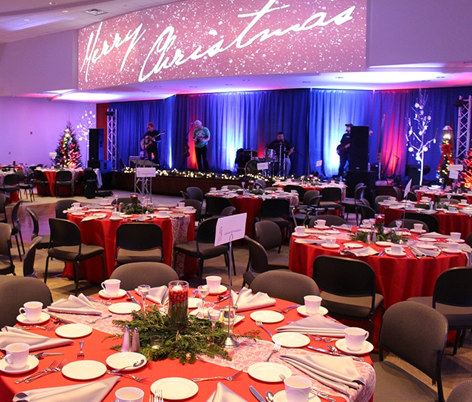 Corporate event at FORUM Events Center, Fishers event venue