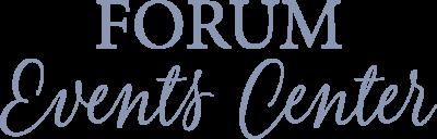 FORUM Events Center Logo